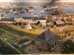 Fortress Louisburg, in alten Tagen